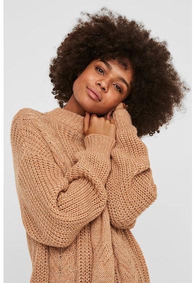 Vero Moda Pulover din amestec de lana cu model torsade Femei