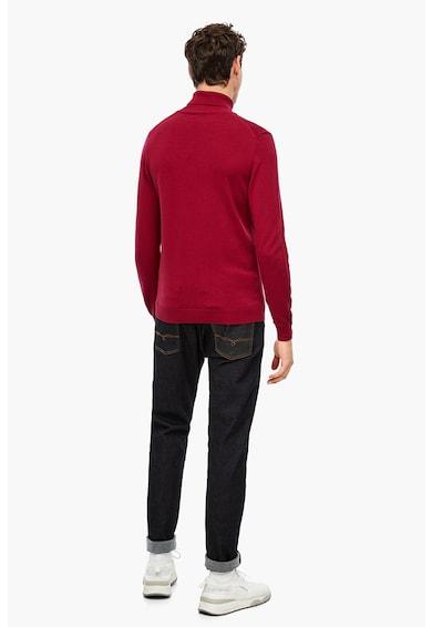 s.Oliver Pulover tricotat fin cu guler inalt Barbati