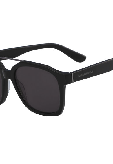 Karl Lagerfeld Ochelari de soare dreptunghiulari cu logo Femei