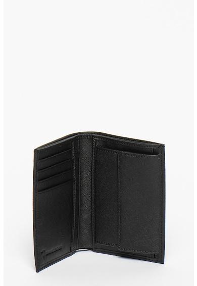 Trussardi Jeans Vertical összehajtható bőr pénztárca férfi