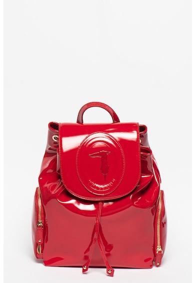 Trussardi Jeans Vernice lakkozott hatású műbőr hátizsák női