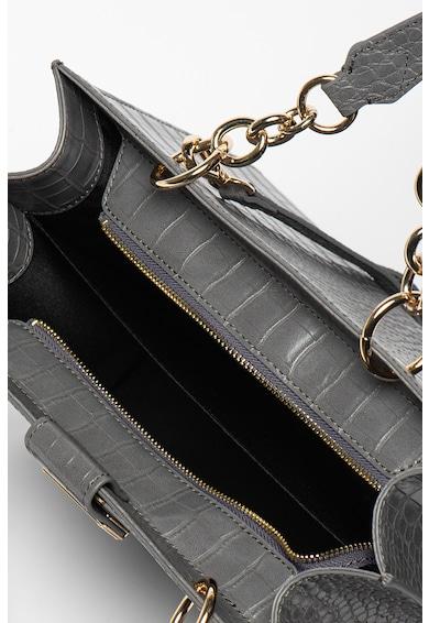 Trussardi Jeans Geanta din piele ecologica cu aspect de piele de crocodil Cocco Femei