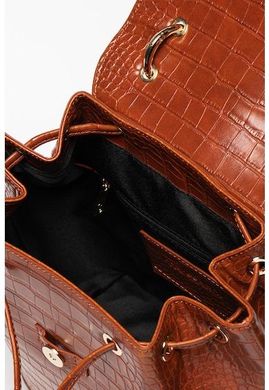 Trussardi Cocco műbőr hátizsák krokodilbőr hatással női