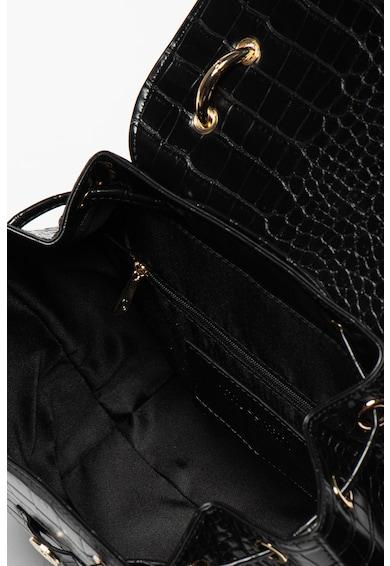 Trussardi Jeans Rucsac din piele ecologica cu aspect de piele de crocodil Cocco Femei