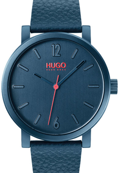 Boss Hugo Boss Ceas rotund cu o curea din piele Barbati