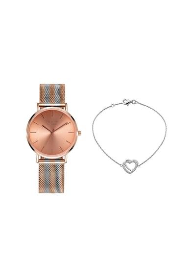 Orphelia Set de ceas si bratara de argint cu zirconia Femei