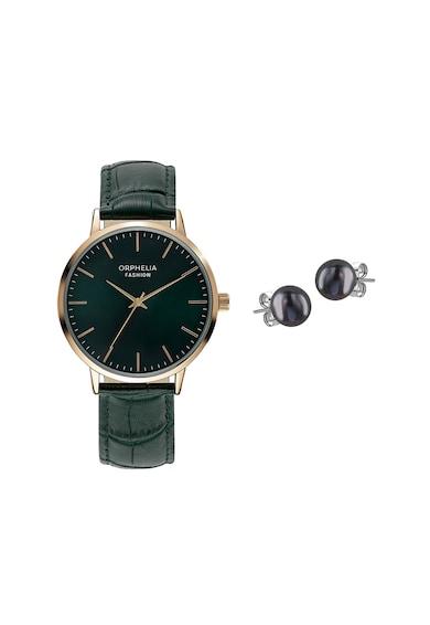 Orphelia Set de ceas analog si cercei cu tija din argint veritabil Femei