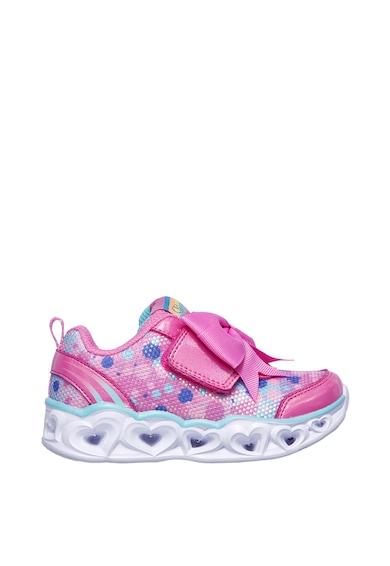 Skechers Heart Lights-Sparkle Sparks sneaker LED fényekkel Lány
