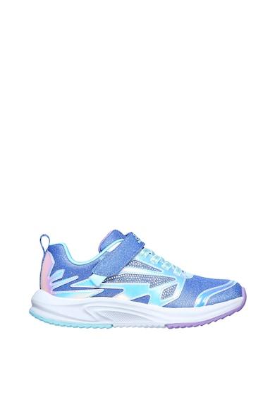 Skechers Pantofi sport din piele ecologica Speed Runner-Sweet Freeze Fete