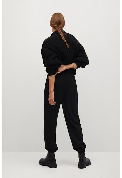 Mango Bombay nadrág rugalmas derékrésszel női