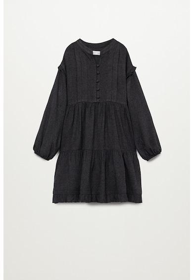 Mango Country galléros ruha rétegzett dizájnnal Lány