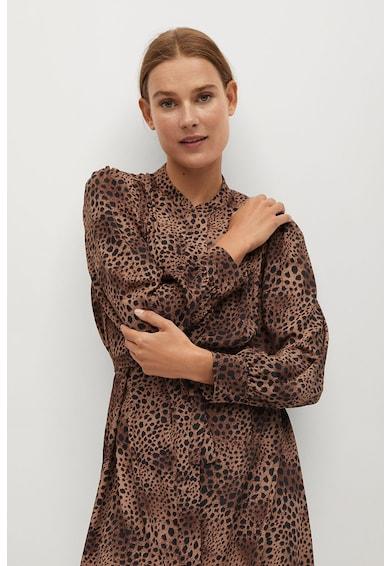 Mango Bonaire állatmintás ruha női