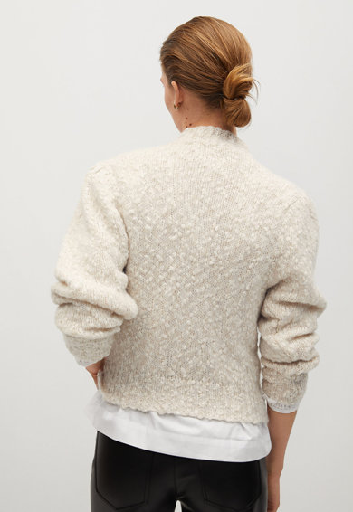 Mango Nadia gyapjútartalmú pulóver női