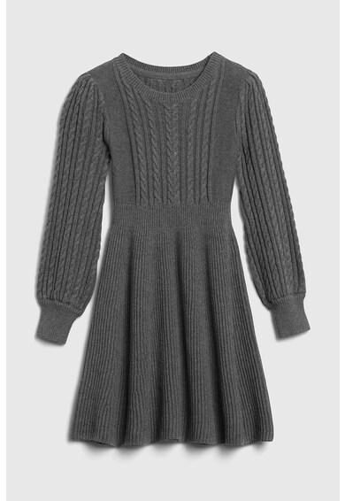 GAP Rochie tip pulover cu croiala evazata si model torsade Fete