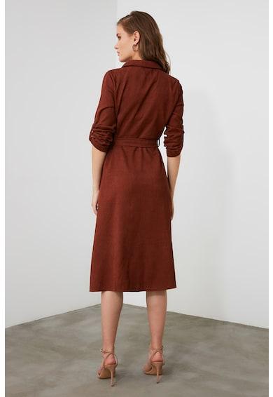 Trendyol Midi ingruha megkötővel a derekánál női