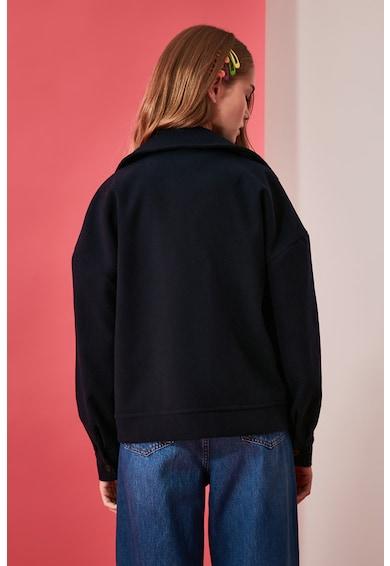 Trendyol Cipzáros dzseki nagyméretű zsebekkel női
