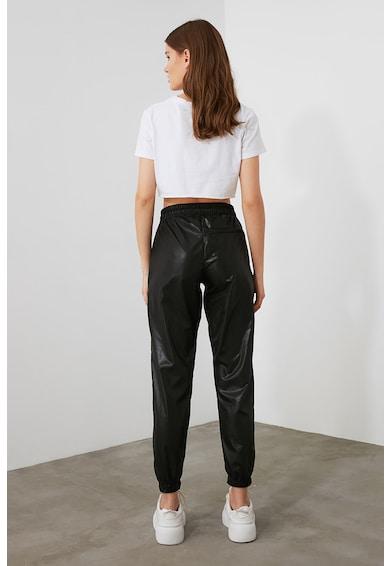 Trendyol Szűkülő szárú nadrág magasított derékrésszel női