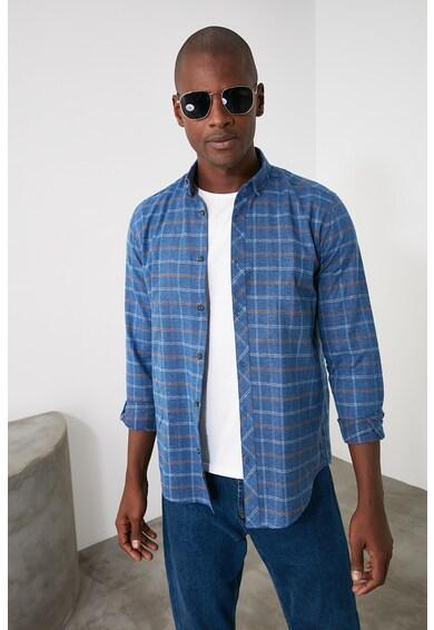 Trendyol Szűk szabású kockás ing férfi