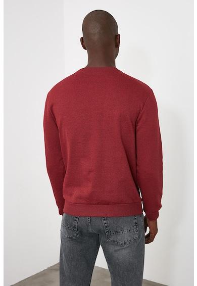 Trendyol Pamuttartalmú pulóver kerek nyakrésszel férfi