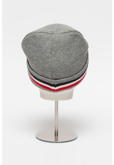 Heavy Tools Caciula elastica din tricot cu aplicatie logo Pendolo Barbati