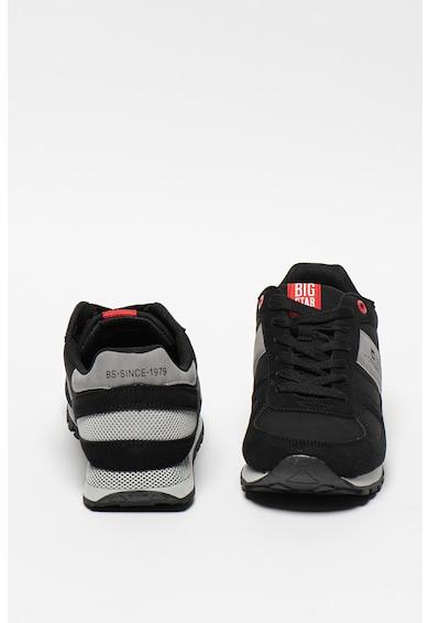 Big Star Pantofi sport de piele ecologica cu logo Barbati