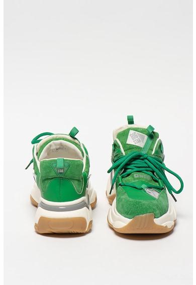 Big Star Pantofi sport de piele intoarsa, cu garnituri de piele Femei