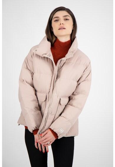 GAP Pihével bélelt steppelt hatású télikabát női