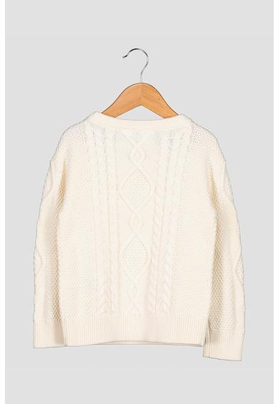 GAP Csavart kötésmintás pulóver Lány