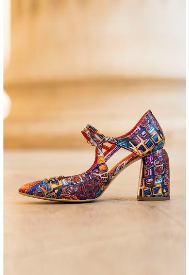 CONDUR by alexandru Fantasy vastag sarkú bőrcipő női