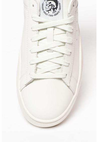 Diesel Pantofi sport din piele cu detalii perforate Clever Barbati
