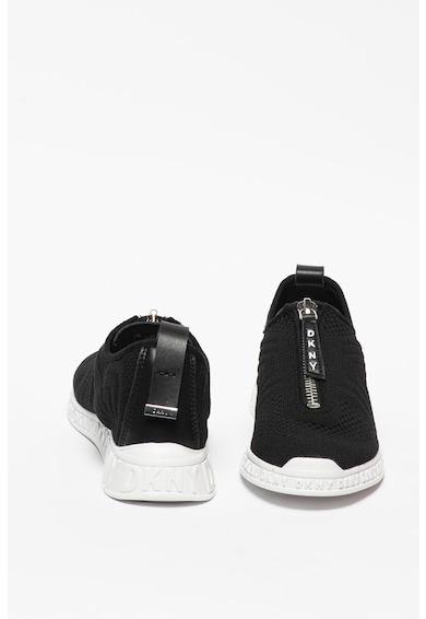 DKNY Pantofi sport de plasa cu fermoar si garnituri de piele Melissa Femei