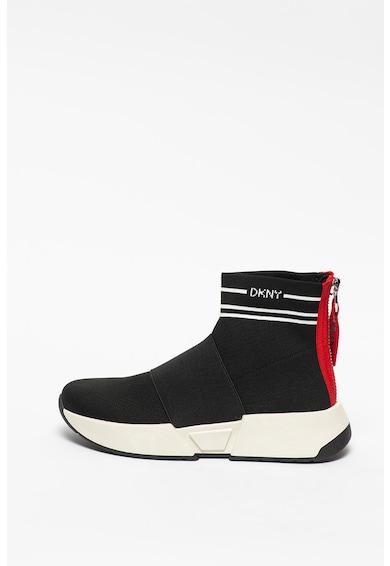 DKNY Pantofi sport cu model tip soseta Marini Femei