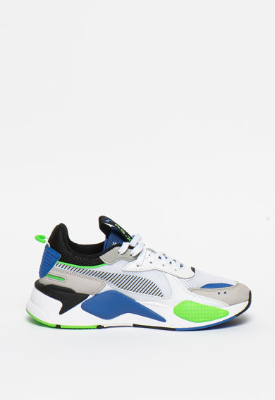 Puma Unisex RS-X Tracks hálós anyagú sneaker bőrbetétekkel női
