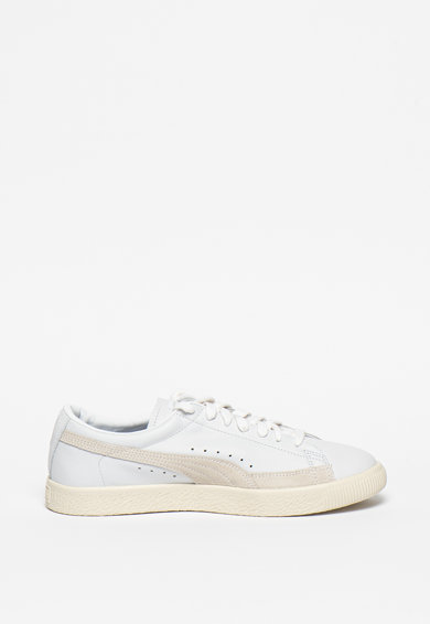 Puma Basket 90680 Lux bőr és nyersbőr sneaker női