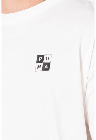Puma Checkboard kerek nyakú póló férfi