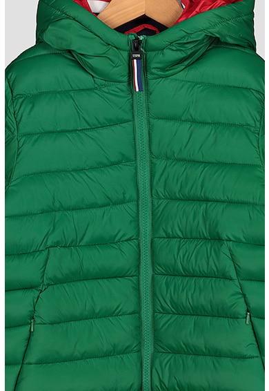 U.S. Polo Assn. Kapucnis steppelt télikabát Fiú