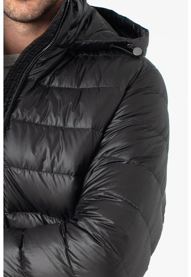 add Pihével bélelt kapucnis télikabát férfi