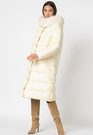 add Pihével bélelt télikabát hosszított fazonnal női