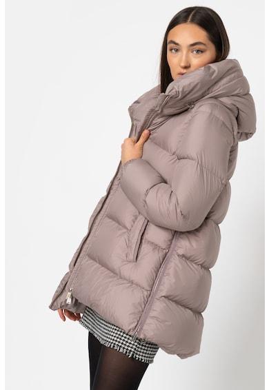 add Pihével bélelt kapucnis télikabát női