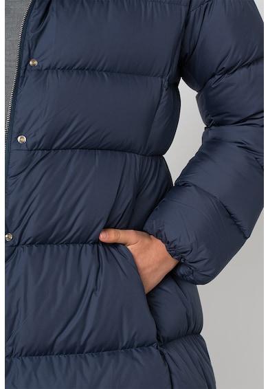 add Pihével bélelt kapucnis télikabát hosszított fazonnal női