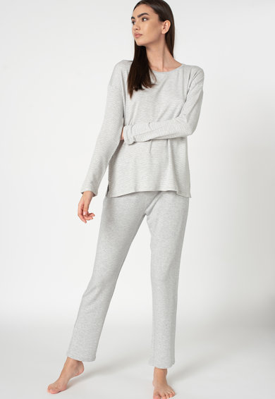 Triumph Pijama cu pantaloni lungi si model in dungi Femei