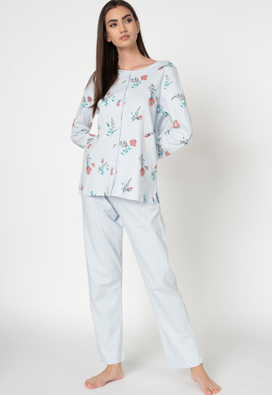 Triumph Pijama de bumbac cu imprimeu 4 Femei