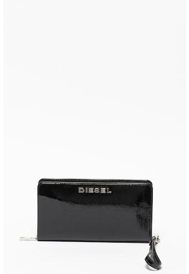 Diesel Granato cipzáros lakkbőr pénztárca női
