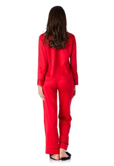 En Privé Pijama cu buzunar pe piept Coco Femei