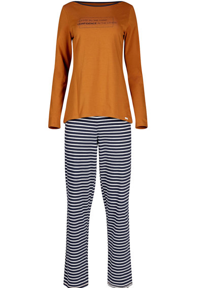 Skiny Pijama lunga cu model grafic Femei