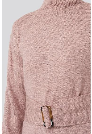 NA-KD Pulover tricotat fin cu slituri laterale Femei