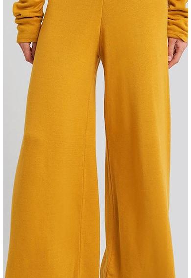 NA-KD Pantaloni tricotati cu croiala ampla Femei