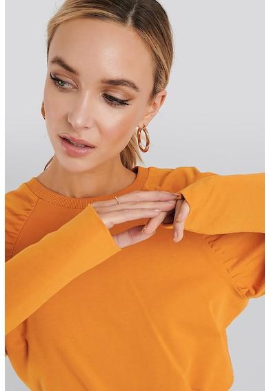 NA-KD Bluza sport supradimensionata cu maneci raglan Femei