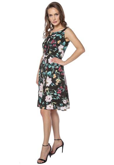 Miss One Rochie mini evazata cu imprimeu floral Femei