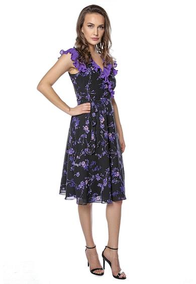 Miss One Átlapolt virágmintás ruha női